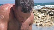 Naughty blonde outdoor screwed on the beach! Vorschaubild