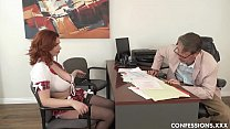 Download video bokep Busty Redhead Schoolgirl Pounded By Professor A... 3gp terbaru