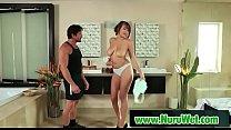 Sexy masseuse gives nuru gel massage 04 Preview