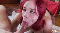 Sexy Elf POV Blowjob and Cowgirl on Dick in Stockings - Cosplay