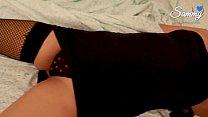 13325 Tocando y cogiendo a mi dulce hermanita borracha después de la fiesta. (en calzones de corazoncitos) preview