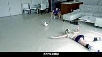 BFFS - Volleyball Girls Fuck Pervy Coach Image