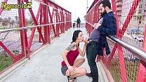 MAMACITAZ - Exhibitionist Couple Risk To Get Caught Having Sex In Public (Alice Blues & Miguel Zayas)