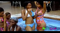 Sexy African Black Babes Pool Party trailer Image