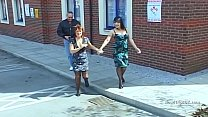 Wendy Taylor and Daisy Rock get a good seeing too