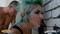 Tattooed Punk Chick Gets Fucked Outdoors