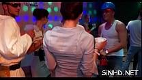 Divine club partying