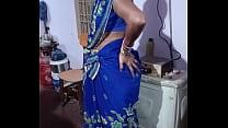 Sexy aunty navel