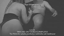 Aunt Hotwife naughty handjob to nephew to smear, all this in front of the cuckold who filmed everything. SECTION