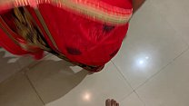 sexy indian mohini bhabhi forcely fucking with devar in red hot saree in missionary position hindi audio Image