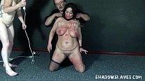Lesbian slaves bizarre insertions and hardcore domination sex of amateur bbw sub