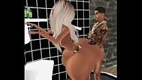 Big booty drunk chick