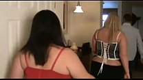 BBW gets plugged during group sex - tightpussycam.com