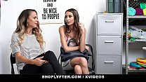 ShopLyfter - Huge Tits Milf and Hot Daughter Give Head To Avoid Jailtime thumbnail