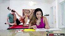 A nice bonding with my stepmom over a boner