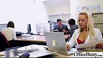 (lou lou) Big Tits Office Slut Girl Get Hard Style Nailed video-24