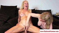 nikki nova » Erica Lauren and Nina Hartley share cock thumbnail