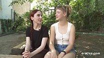 German Lesbian Sex - Strap On Fucking