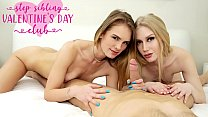 Step Sibling Valentines Day Club Emma Starletto, Natalie Knight