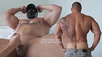 Married Tattooed 'Hulk': serviced, milked and edged by @WorldStudZ