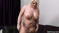 First date sex with cute blonde bbw