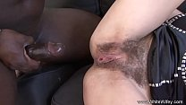 Big Black Cock For Brunette Wifey