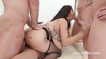 Pissing on Jureka Del Mar Before a Double Anal Hardcore Super Fuck Image