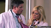 6284 Slutty blonde (Tasha Reign) gets ass fuck by her doctor - BRAZZERS preview