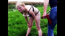 Clip 11Lil Lili Outdoor Spanking and Posing  – ...