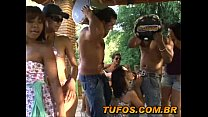 Hot Brazilians in the pagode of bitching!