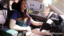 Hot Matilda Masturbating While Driving video