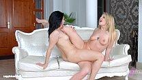 International Affair by Sapphic Erotica - sensual lesbian scene with Jemma Valen