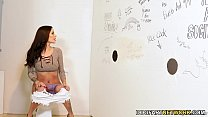 Gia Dimarco Takes Big Black Dick - Gloryhole Preview