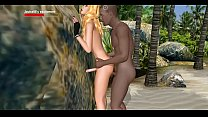 louise88: busty shemale hard interracial on the beach