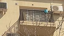 Vecina en el balcon 2da parte