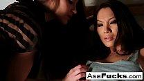 Image: Dani Daniels captures Asa Akira then bangs her