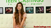 Petite teenie roughfucked at sexaudition