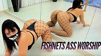 Hot Latina Girl Pole Dancing Big ass twerking - Blowjob Creampie
