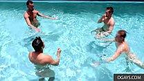 Poolside Hormones Leading to Bedroom - Javier Cruz, Mike Monroe