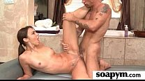 Sisters Friend Gives Him a Soapy Massage 30