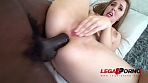 Image: Lena Paul is a Star - Getting Fucked Hard by 2 Dicks Balls Deep