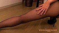 Leggys Dream 1 Japanese nice legged girl Miho in black pantyhose thumbnail