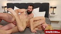 BRINGMEABOY Blond Twink Kyle Polaski Barebacked By Daddy