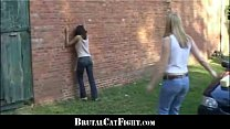 18594 Rough catfight at a carwash preview