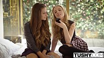Image: TUSHY Babes Cassidy Klein and Aubrey Star Do Anal