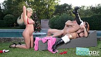 Busty Christmas Threesome with Summer Brielle & Alison Tyler ◦ (hotsexcom) thumbnail