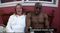 Old whore taking big black cock in Granny Sex Video preview image
