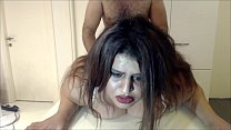 Painful Anal Punishment with Cheating busty Wife !