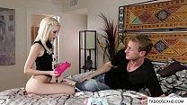 Stepfather snifing daughter panties