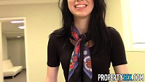 PropertySex - Beautiful brunette real estate ag...